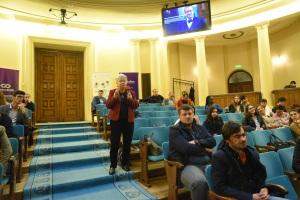 Dezbatere organizată de ASE, CCREI, Modex și INACO, 13 noiembrie 2019, Aula ASE.